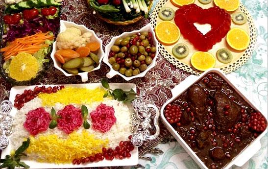 خوراکیهای ویژه شب یلدا